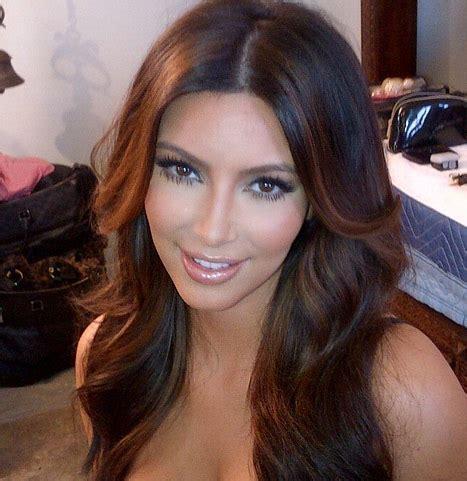 kim kardashian hair color highlights kim kardashian bonde highlights