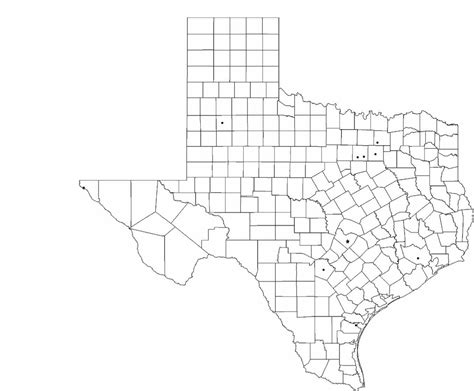 blank texas map blank texas city map free