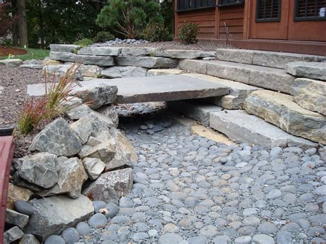 natural drainage ditch landscaping ideas bistrodre porch