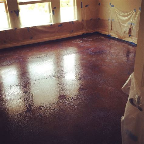 Hometalk   How to Dye or Stain Concrete Floors