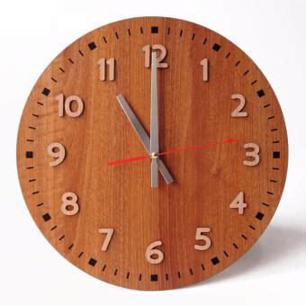 Jam Dinding Kanji By Tik Tok Box tik tok box jam dinding mwcs clock cokelat