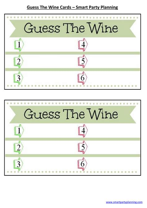 wine score cards template host your own wine tasting winetable
