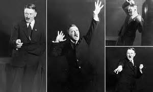 images  hitler show  dictator rehearsing  public