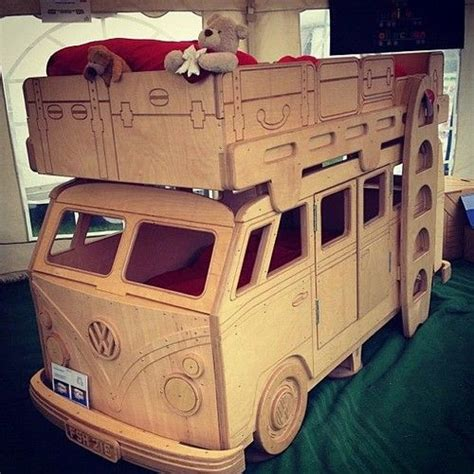 vw bus bed vw bus bunk bed want want want cer van love