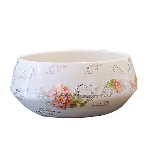 decorative bathroom sink bowls vivid upon mount floral pattern decorative bathroom sink bowls