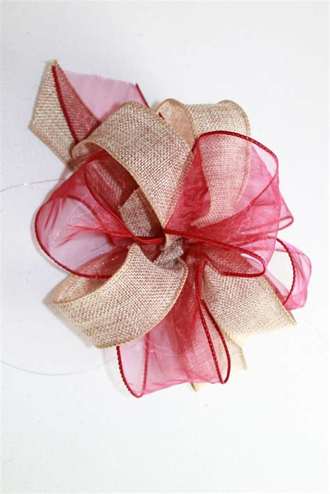 how to make big decorative bows a really easy tutorial