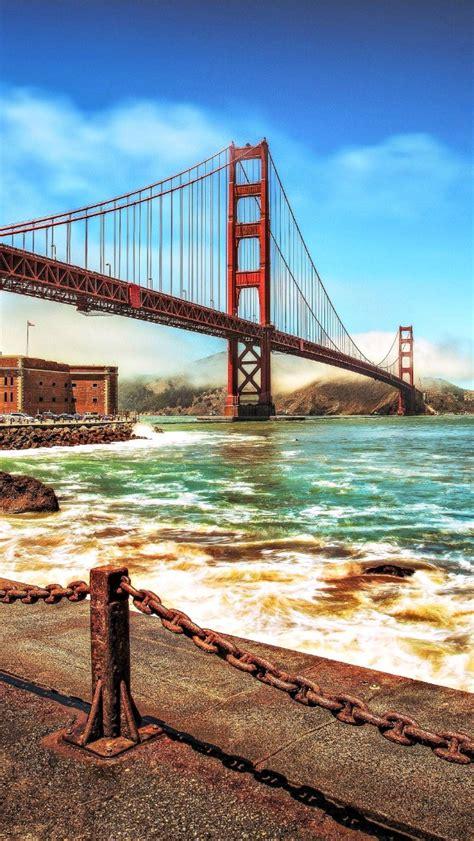 Golden Gate Bridge Supreme Iphone All Hp お洒落な風景 ゴールデン ゲート ブリッジ カリフォルニア スマホ壁紙 iphone待受画像ギャラリー