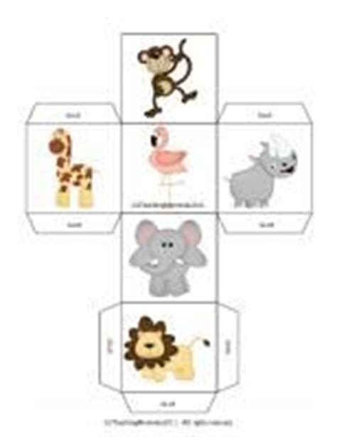 printable animal dice at the zoo mini book twisty noodle zoo lions and