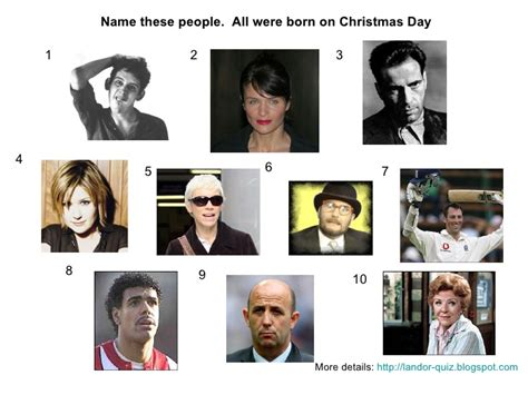 film quiz slideshare people born on christmas day picture quiz