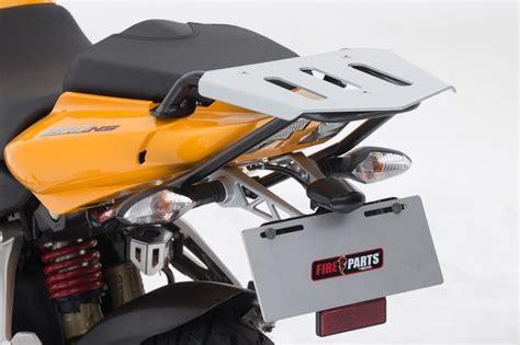 detalles de la ns 200 soporte maleta superior top case pulsar 200 ns fire parts