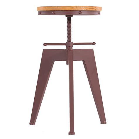 altezza sgabello bar ikayaa altezza metallo regolabile sedia girevole