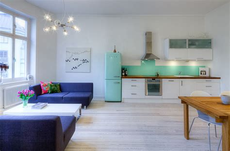 Livingroom Realty by Open Concept Apartment Design In Stockholm