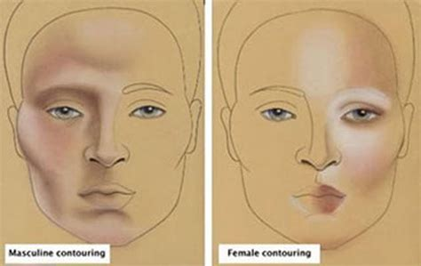 makeup for feminine men masculine feminine contouring i woke up like this