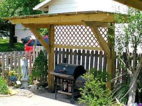 Backyard Grill Shelter Pergola For My S Day Gift Of A Charcoal Grill Gas