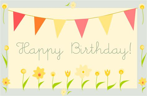 Free Birthday Cards Free Printable Happy Birthday Greeting Card Quot Gartenparty