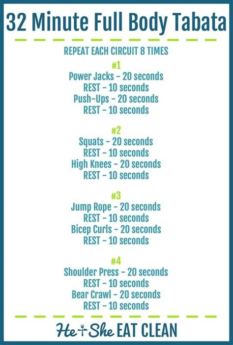 25 best ideas about tabata workouts on tabata