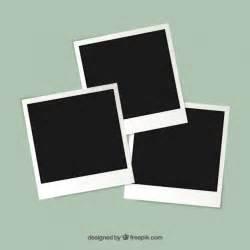 foto template polaroid photography frames vector free