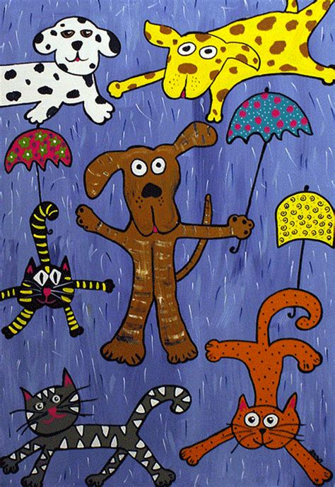 raining cats and dogs and today s idiom is raining cats and dogs