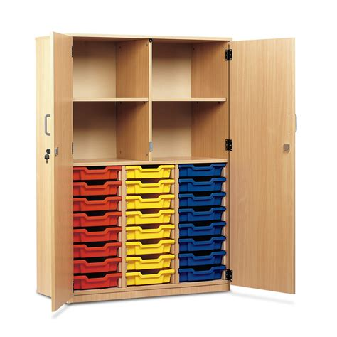 Cupboard With Doors - buy 24 shallow tray cupboard locking doors