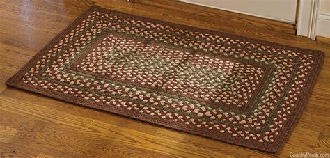 glenwood rectangle braided rug 27 x 45