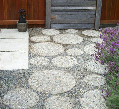 Exposed Aggregate Patio Stones by Exposed Aggregate Platform Zeller Interiors