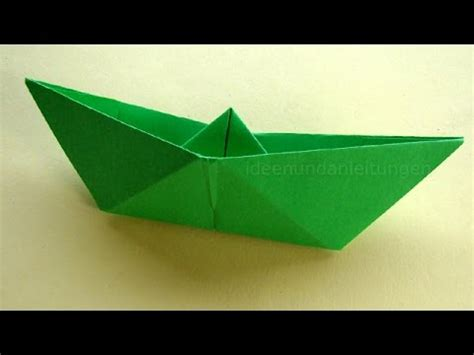 papierboot falten einfaches papierschiff basteln
