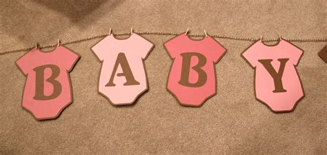 onesie template for baby shower banner decorations cardsies