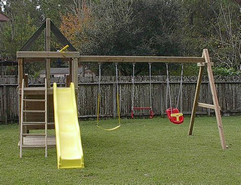 diy metal swing set apollo diy wood fort swingset plans jack s backyard