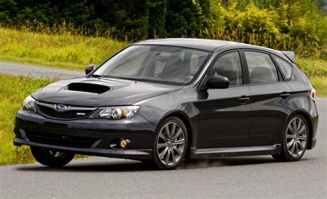 subaru impreza hatchback wrx car and driver