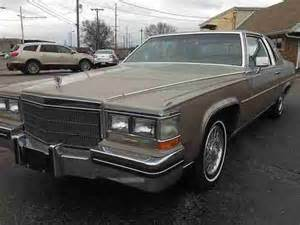 1985 Cadillac Fleetwood Brougham Specs Find Used 1985 Cadillac Fleetwood Brougham Coupe 2 Door 4