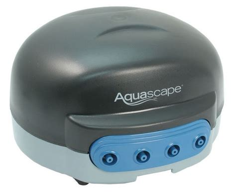 aquascape pond aerator 4 outlet pond aerator water garden pond supplies