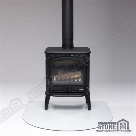 Tempered Glass Oren tempered glass drop shape stove hearth in portlaoise laois from laois