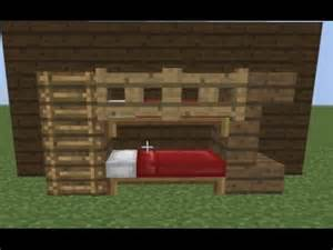 how to make a bed minecraft how to make the best bunk bed in minecraft youtube