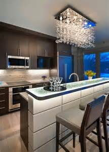 kitchen counter lighting ideas 37 multifunctional kitchen islands with seating