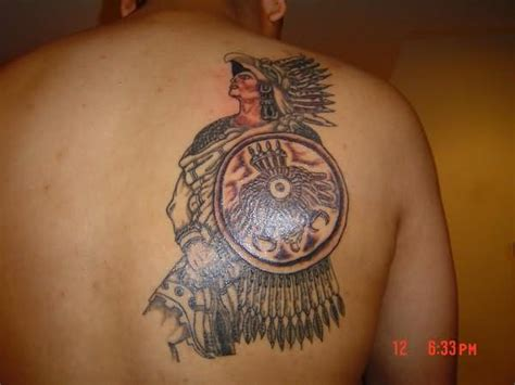 aztec shoulder tattoo 41 lovely aztec shoulder tattoos