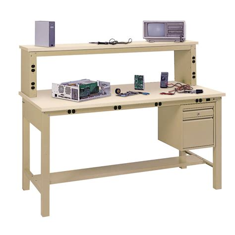 home work bench edsal 2 in h x 72 in w x 30 in d plastic laminate work