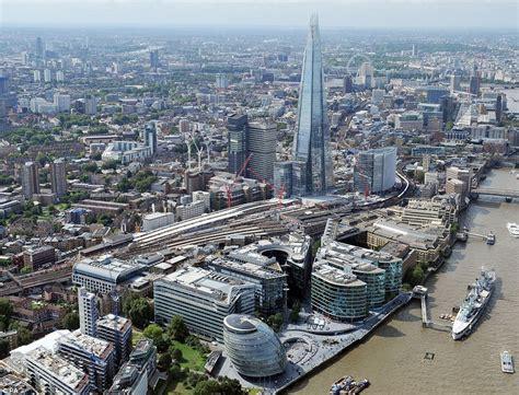 london thameslink thameslink rail project takes shape in stunning aerial