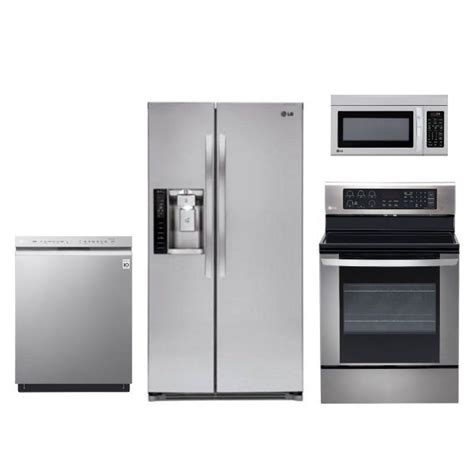 kitchen 4 piece kitchen appliance package stainless 28 best kitchen packages images on pinterest stainless