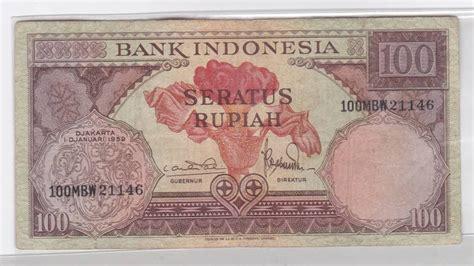 Uang Lama 5 Rupiah 1959 jual uang kuno untuk mahar 100 rupiah 1959 uang lama