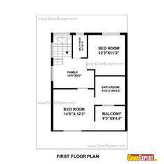 gaj to feet house plan for 25 feet by 33 feet plot plot size 91 square yards house plan pinterest