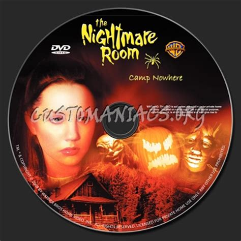 the nightmare room c nowhere the nightmare room c nowhere dvd label dvd covers labels by customaniacs id 72669 free