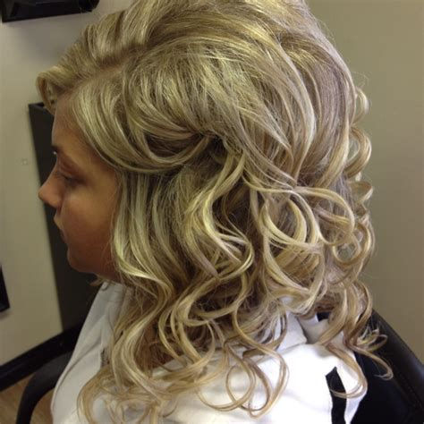 soft waves hairstyles for prom loose curls formal prom style hair i have done and some