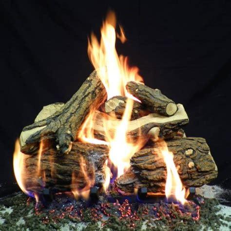 best ventless gas fireplace logs