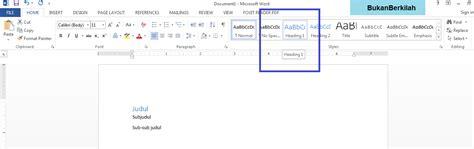 membuat daftar pustaka otomatis di word 2007 langkah membuat daftar isi otomatis di word cara membuat