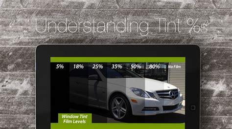understanding tint percentages diversity auto films