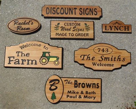 Handcrafted Wood Signs - pdf diy custom wood signs craftsman dining table