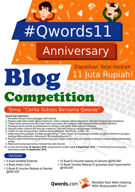 Uf Mba Application Deadline by Kompetisi Qwords Pusat Info Lomba Menulis