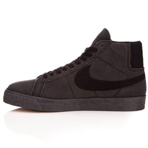 nike sb passport blazer qs shoes black anthracite black