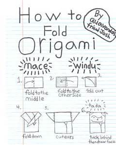 How To Fold Origami Yoda By Tom Angleberger - joshs mace windu origamiyoda