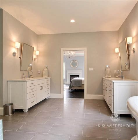 Sherwin Williams Light Gray by Transitional Bathroom Sherwin Williams Light Gray